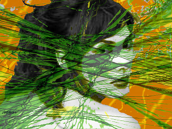 Sethweaver Digital Art - A Tangled Web by Seth Weaver