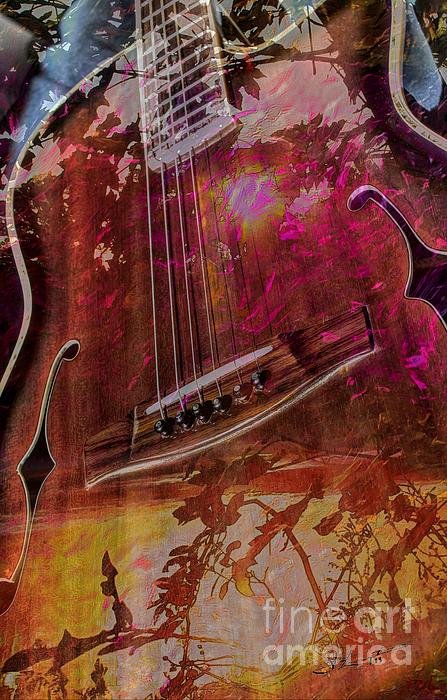 Acoustic Photograph - A Tune In The Woods By Steven Langston by Steven Lebron Langston