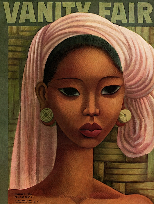 A Woman From Bali Photograph by Miguel Covarrubias