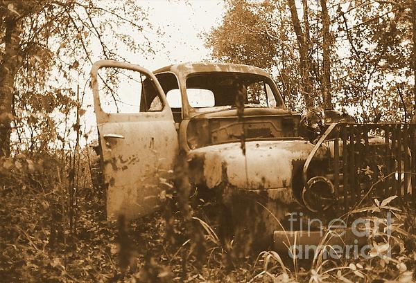 Old Cars Photograph - Abandoned Journey by Michael Hoard