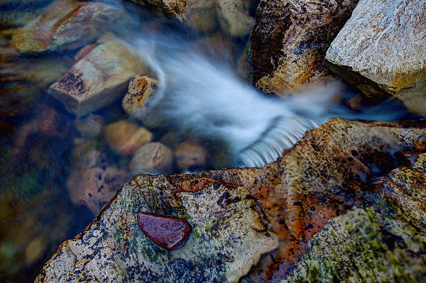 Outdoor Photograph - Abstract Falls by Chad Dutson