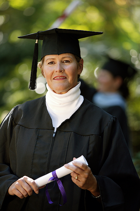 Adult Graduate Photograph by Comstock Images