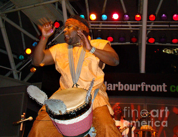 Music Photograph - African Drummer by Eva Kato