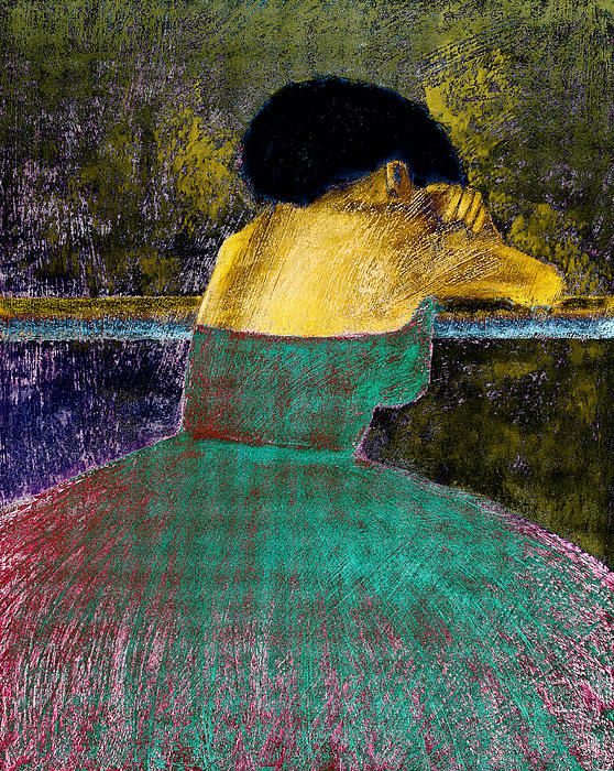 Impressionistic Digital Art - After The Dance by David Patterson