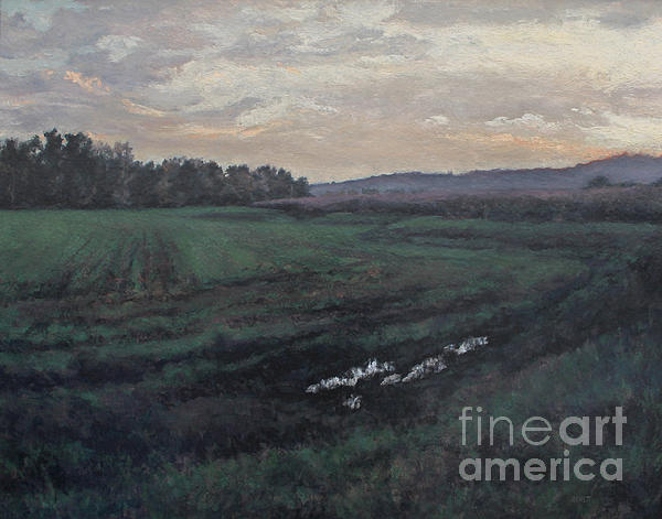 After The Rain Painting - After The Rain by Gregory Arnett