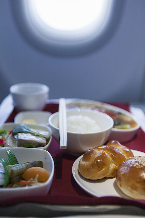 Airline Meal, Business Class Photograph by Shui Ta Shan