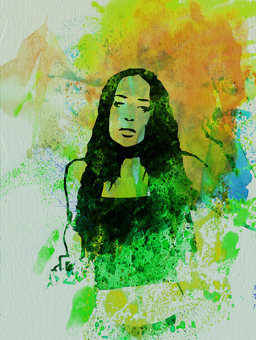 Alanis Morissette Painting - Alanis Morissette by Naxart Studio