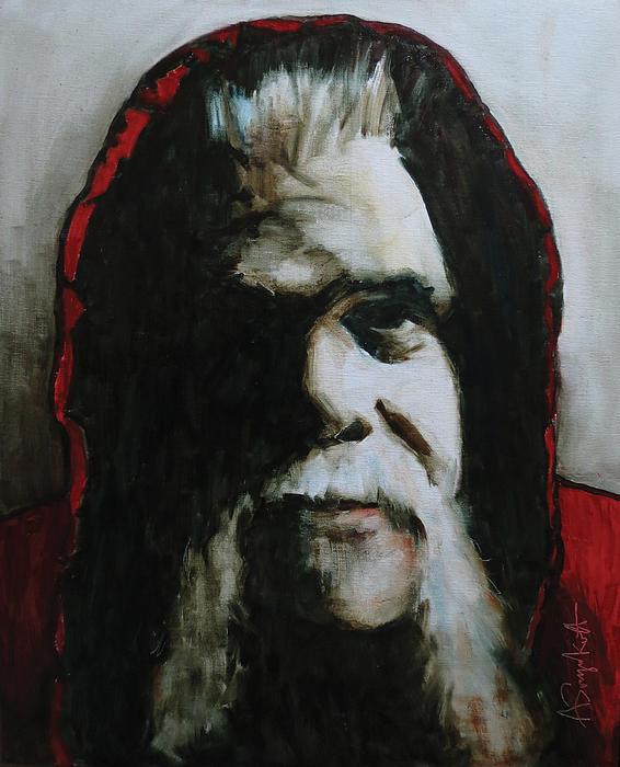 Portrait Painting - Alberto by Alexei Biryukoff