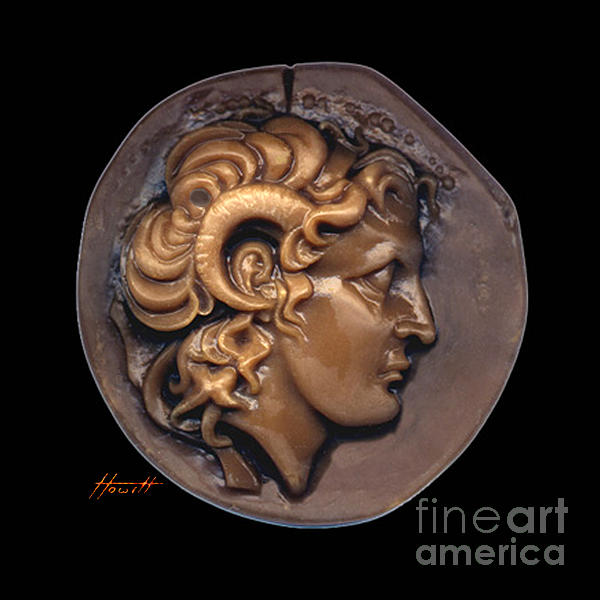 Alexander The Great Sculpture - Alexander by Patricia Howitt
