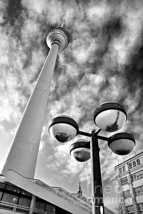 Tower Photograph - Alexander Platz - Berlin by Luciano Mortula