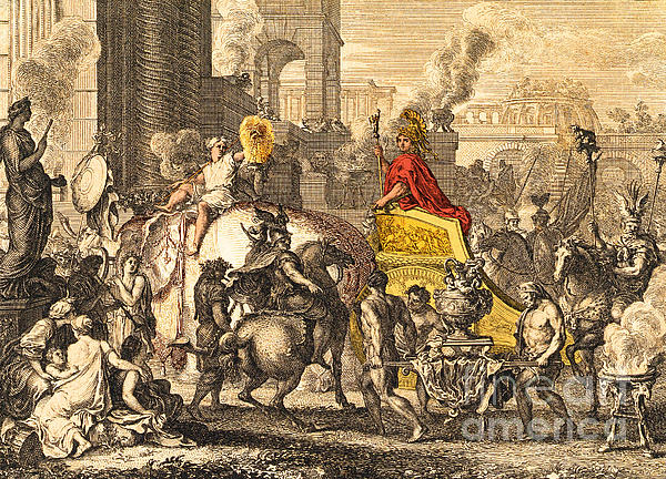 History Photograph - Alexander The Great Entering Babylon by Getty Research Institute