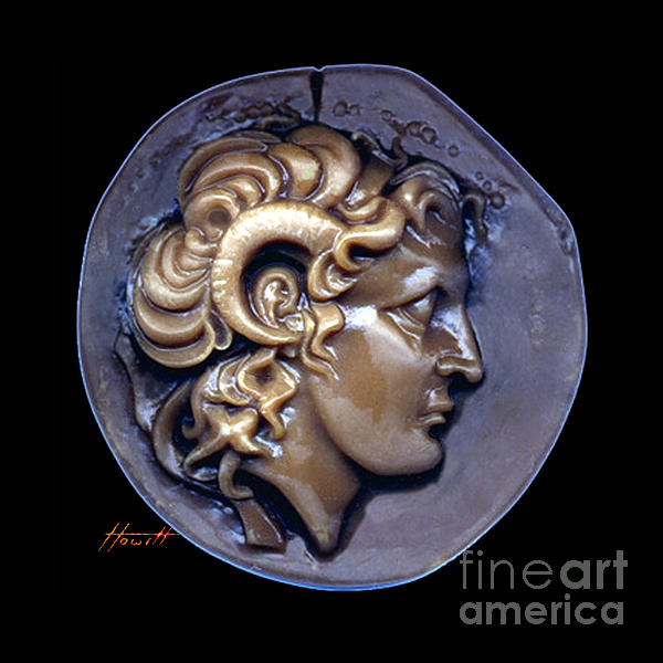 Alexander Sculpture - Alexander The Great by Patricia Howitt