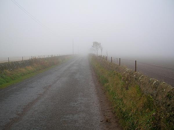 Scotland Photograph - Alone And On The Path by Tom Trimbath