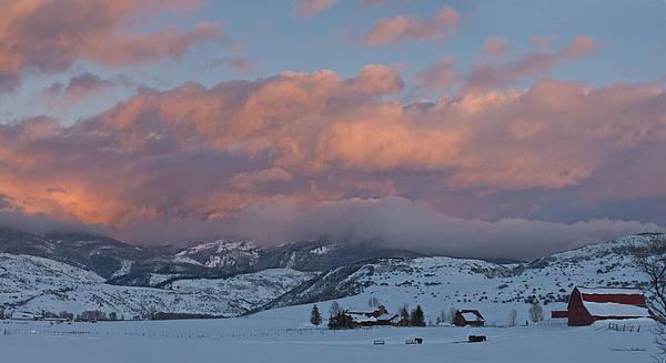 Daniel Hebard - Alpine Glow over Elk Mountain Meadows