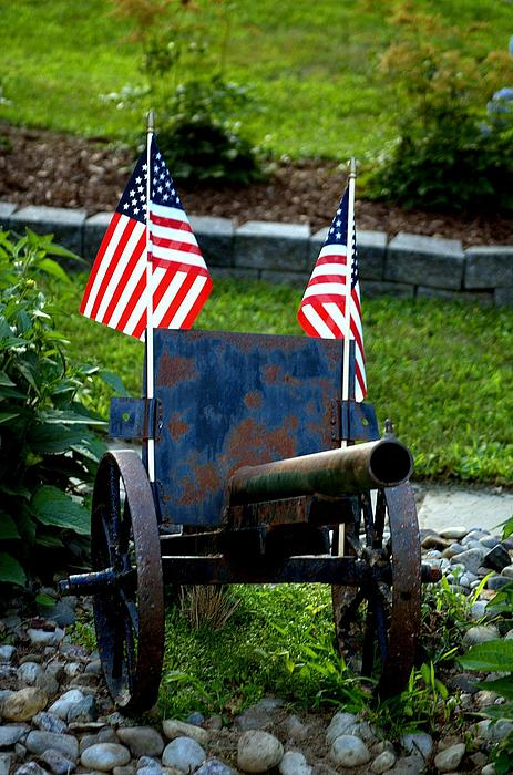 Flag Photograph - American Pride by Timothy  Shea
