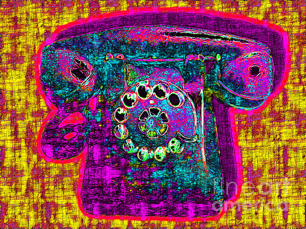 Analog Photograph - Analog A-phone - 2013-0121 - V1 by Wingsdomain Art and Photography
