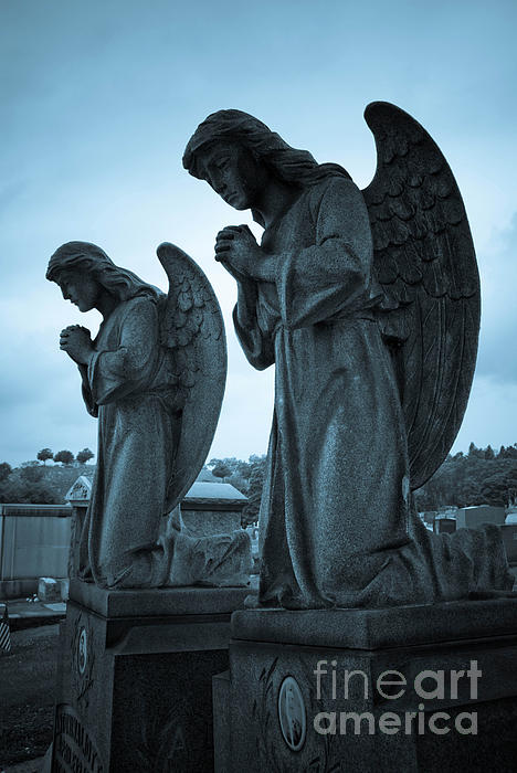 Afterlife Photograph - Angels In Prayer by Amy Cicconi