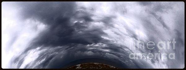 Storm Clouds Photograph - Angry Sky by Garren Zanker
