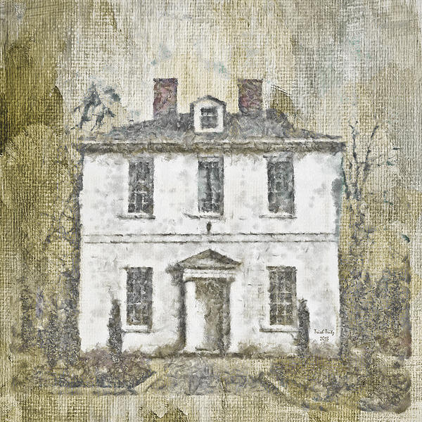 House Mixed Media - Animal House by Trish Tritz