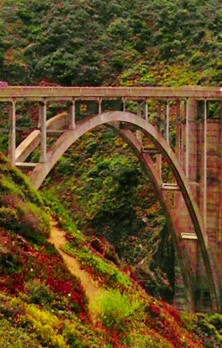 California Photograph - Anyone Seen The Bridge by Sharon Costa