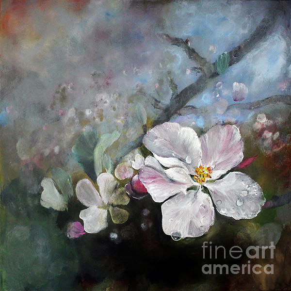 Flower Painting - Appleblossom by Stephanie  Koehl