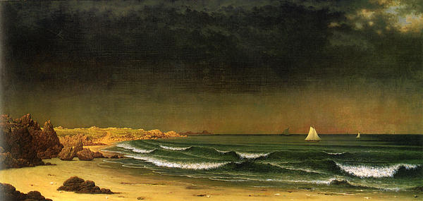 Beach Digital Art - Approaching Storm Near Newport Beach by Martin Heade