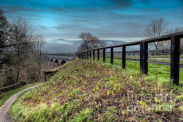 1805 Photograph - Aqueduct At Pontcysyllte by Adrian Evans