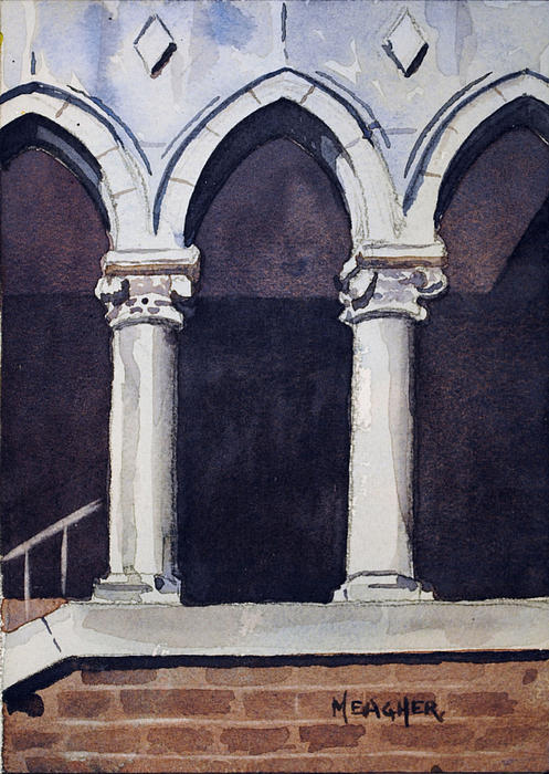 Arch Painting - Arches  by Spencer Meagher