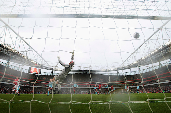 Arsenal V Burnley - Fa Cup 5th Round Photograph by Mike Hewitt