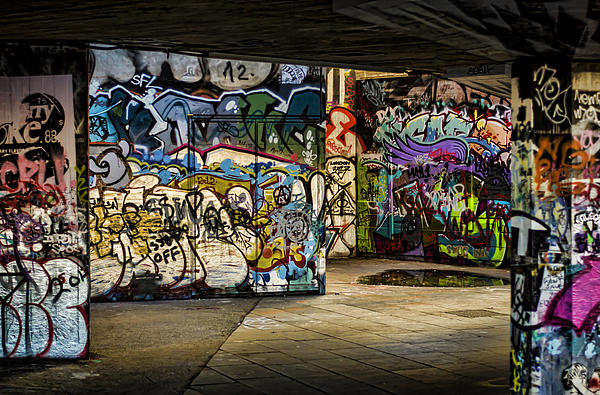 Graffiti Photograph - Art Of The Underground by Heather Applegate