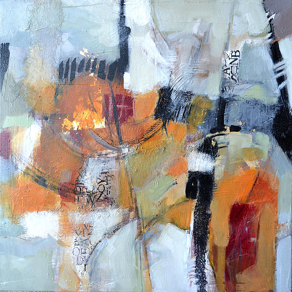 Abstract Painting - Artifacts by Filomena Booth