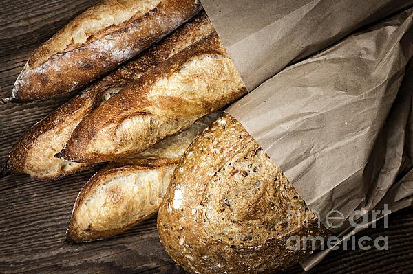 Bread Photograph - Artisan Bread by Elena Elisseeva