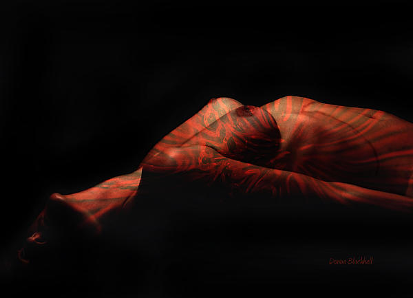 Tattoo Photograph - Artistic Crucifiction by Donna Blackhall