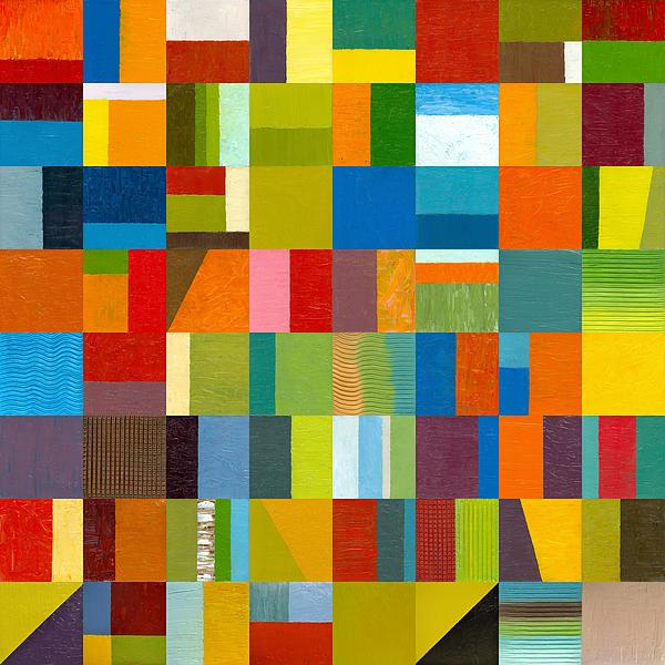 Colorful Painting - Artprize 2012 by Michelle Calkins