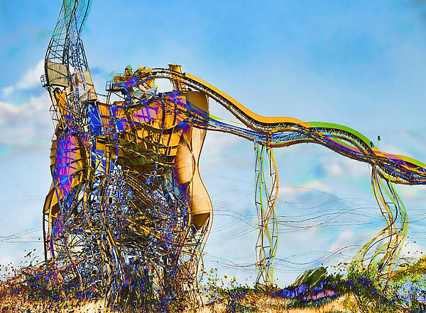 Construction Digital Art - As Is by Wendy J St Christopher
