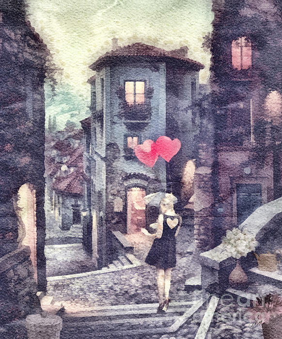 At Heart Painting - At Heart by Mo T
