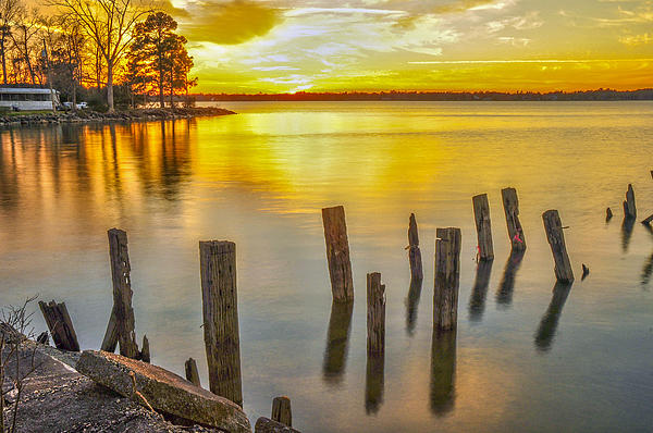 Lake Moultrie Photograph - Atkins Landing by Donnie Smith