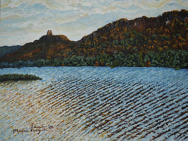 Nature Painting - Autumn At Sugar Loaf by Monica Veraguth