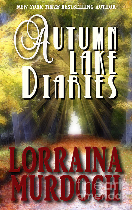 Graphic Design Photograph - Autumn Lake Diaries by Mike Nellums