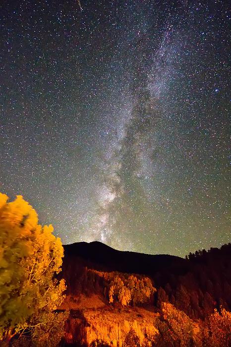 Milkyway Photograph - Autumn Milky Way Night Sky  by James BO  Insogna