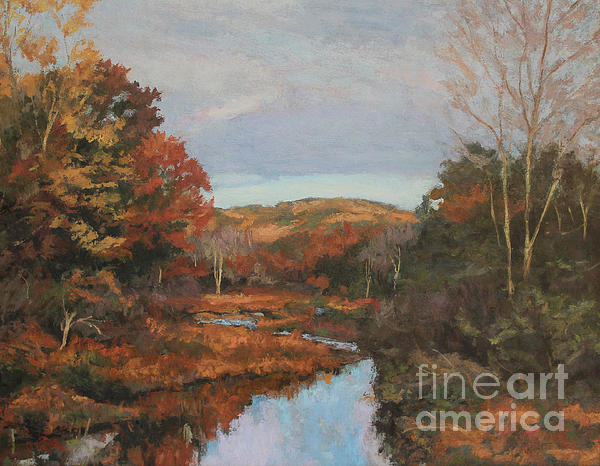 Autumn Affternoon Painting - Autumn Stream by Gregory Arnett