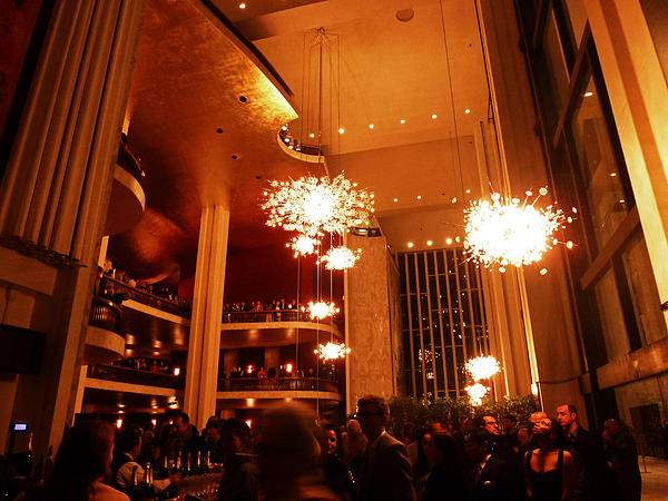 Metropolitan Opera Photograph - Awesome Intermission by Christine Burdine