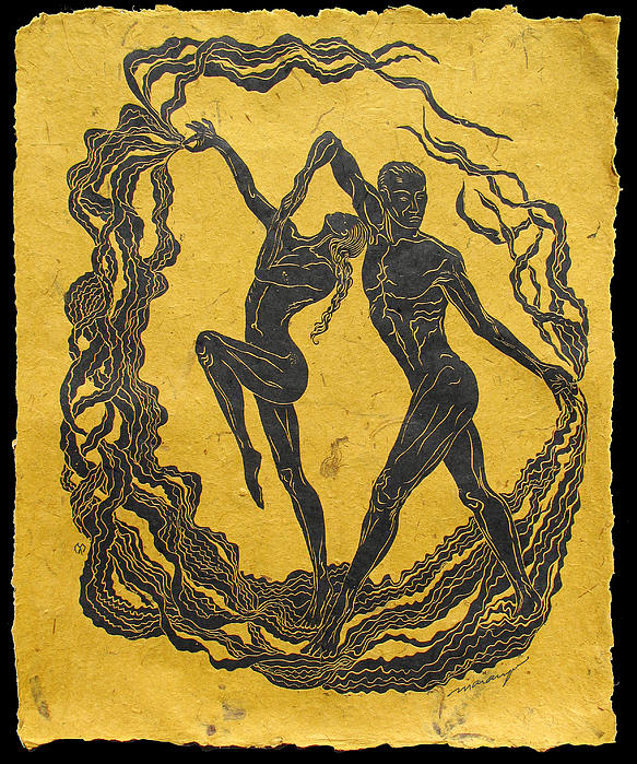 Dancer Relief - Baile Del Sol by Maria Arango Diener