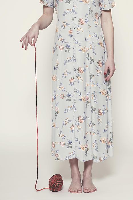 Woman Photograph - Ball Of Wool by Joana Kruse