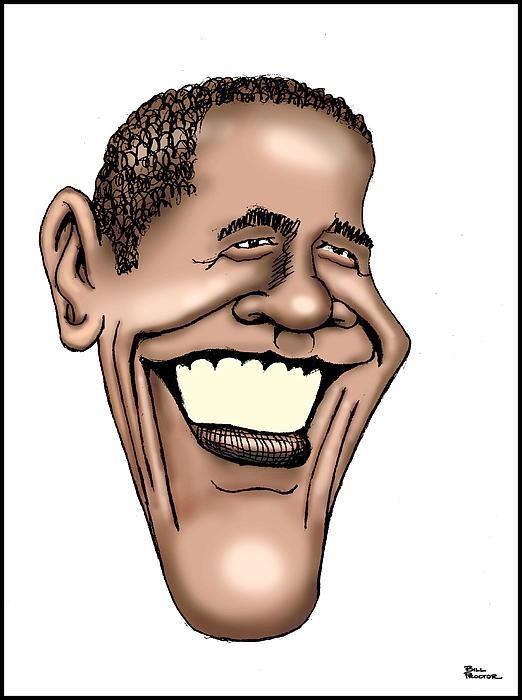 Barack Obama Digital Art - Barack Obama by Bill Proctor