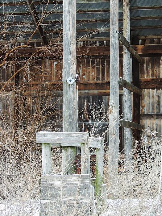 Rustic Barn Interior Photograph - Barn #39 by Todd Sherlock