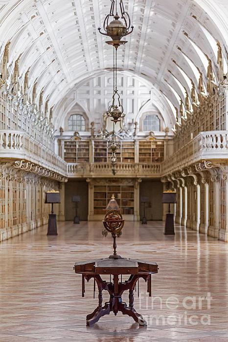 Baroque Photograph - Baroque Library  by Jose Elias - Sofia Pereira