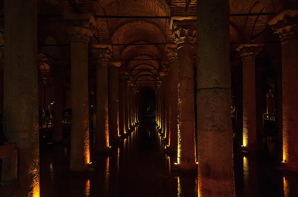 Basilica Cistern Photograph by Raffaele Nicolussi (www.MadGrin.com)