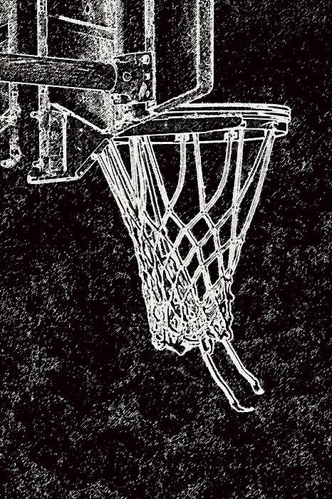 Sports Photograph - Basketball Years by Karol Livote