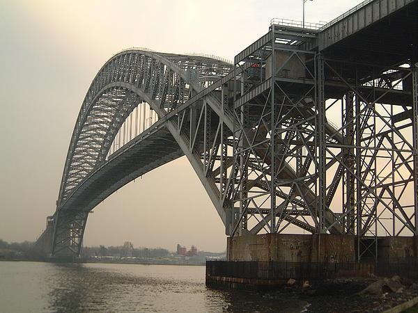 Bayonne Photograph - Bayonne Bridge by Wayne Gill